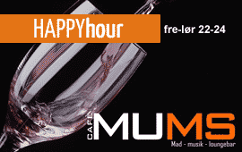 Happy hour hos Cafe Mums